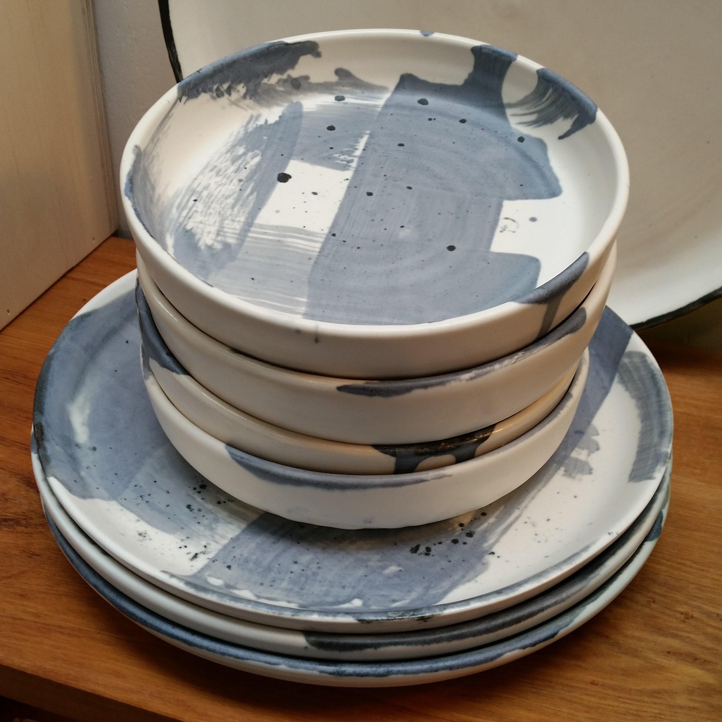 George Sands Studio - Sunakku plates