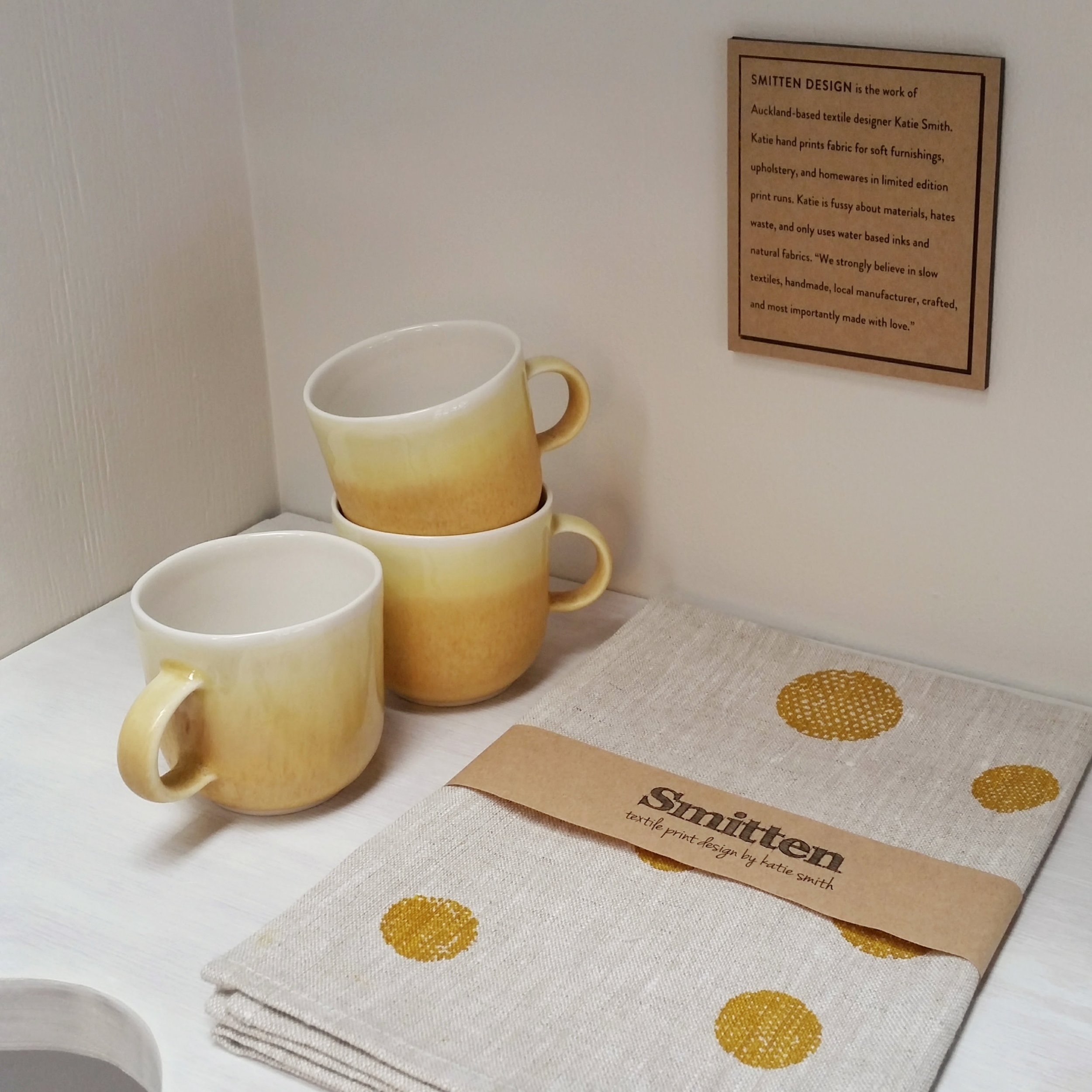 Three Cups of Tea / Smitten Textiles