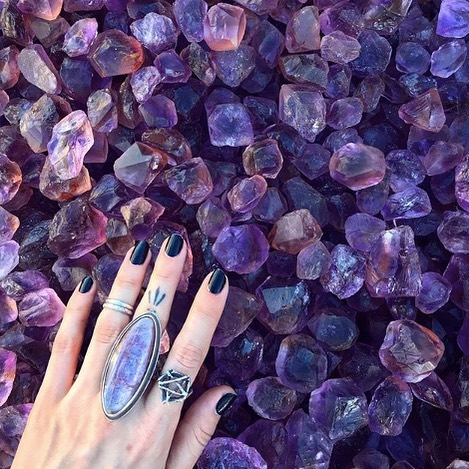 About a month ago we detailed 'Everything You Wanted to Know About Crystals but Didn't Know Who to Ask', but some of you may have wondered what are the most popular crystals and what do they mean. . . In our most-recent blog post we broke down ten popular crystals and shared how they can benefit you! 📸: @soliloquyjewelry #linkinbio