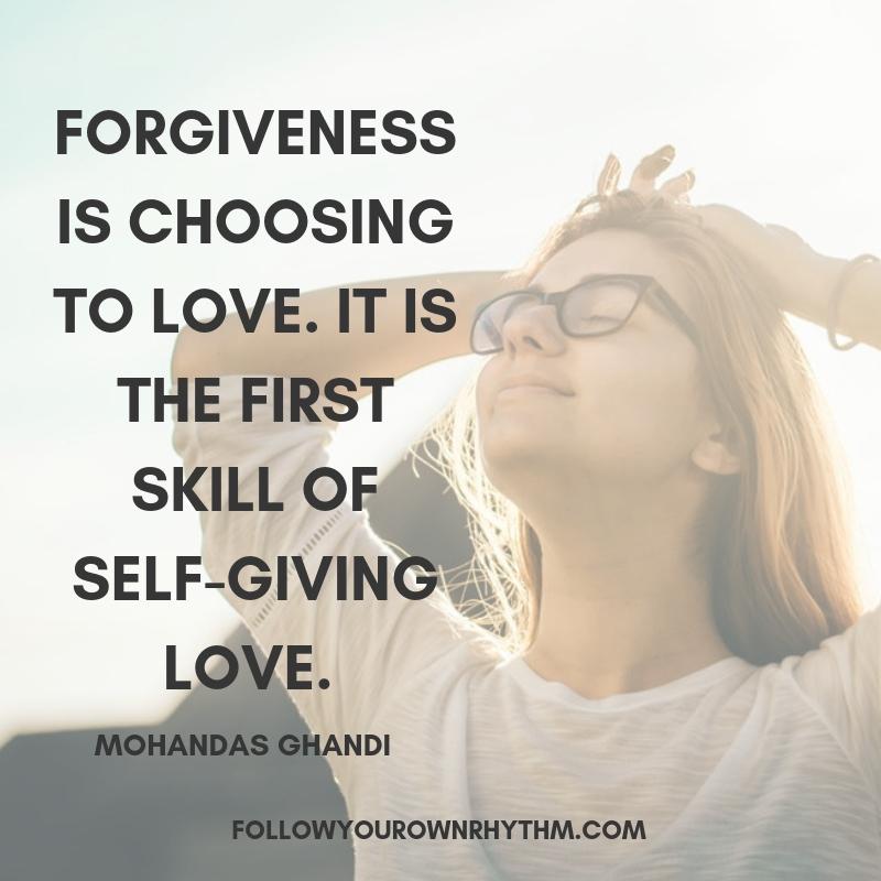 self-forgiveness quote
