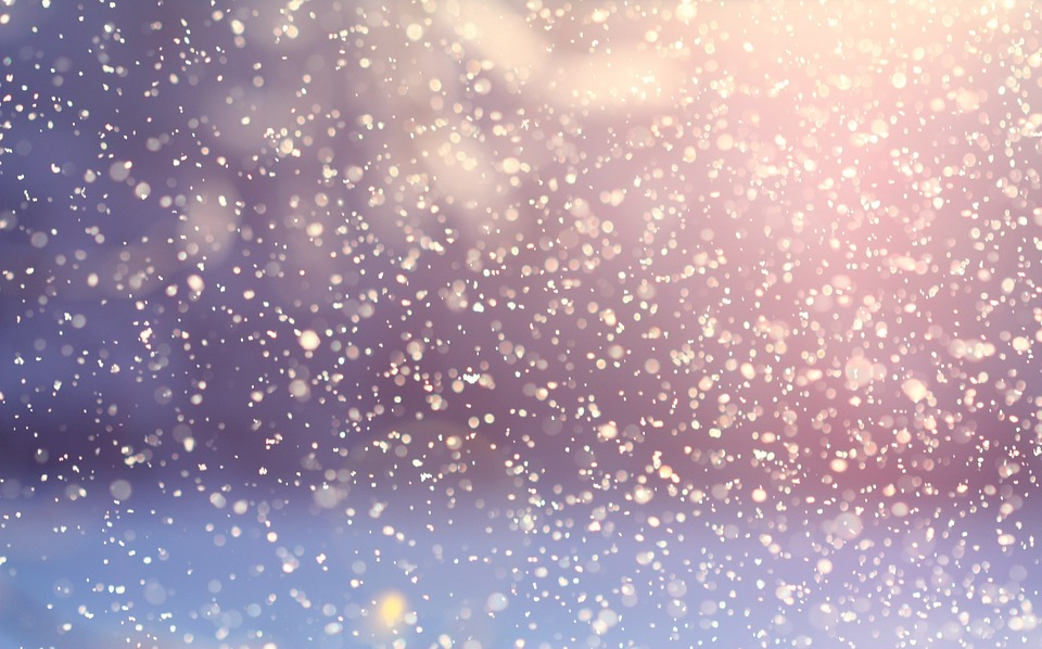 Snowing Snowfall Flakes Snowflakes Snow Winter