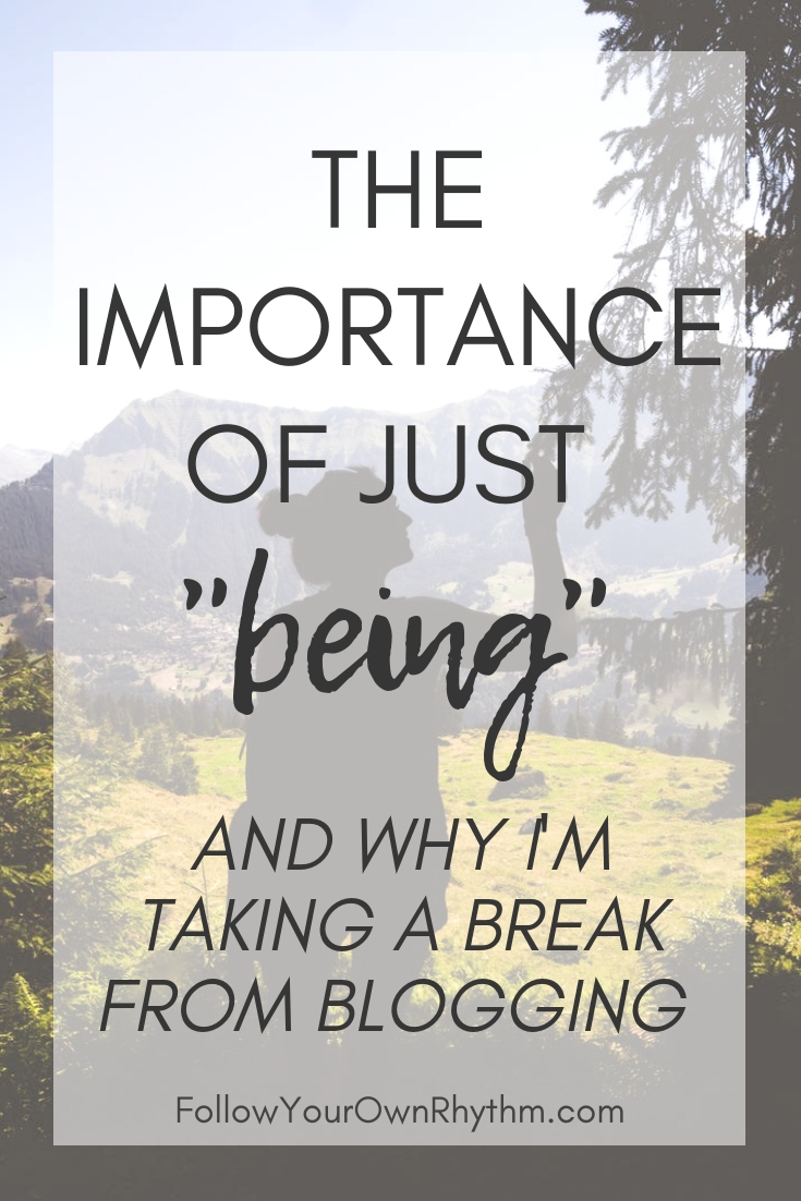 THE IMPORTANCE OF BEING