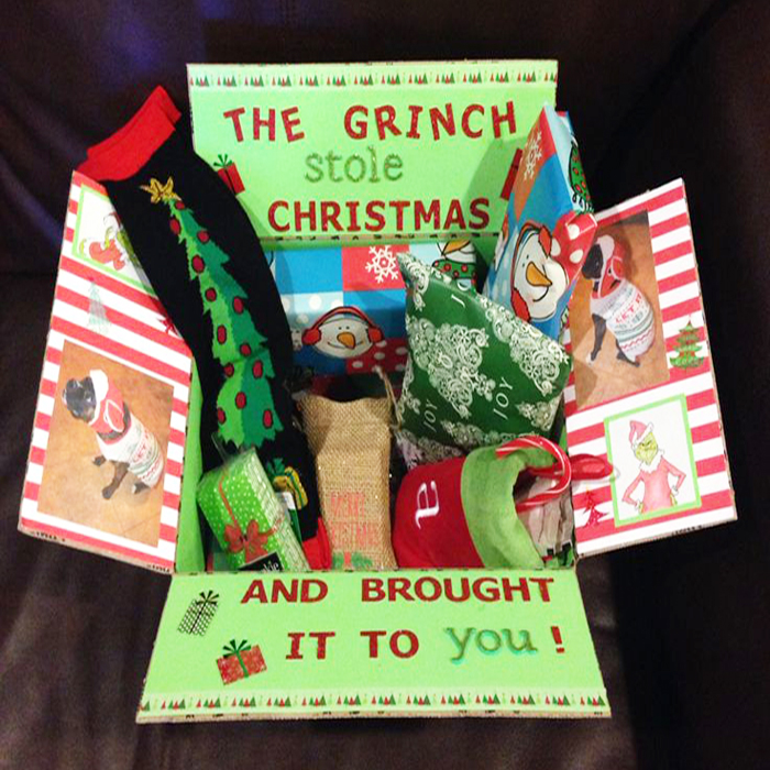 Great idea if you want to decorate a box!