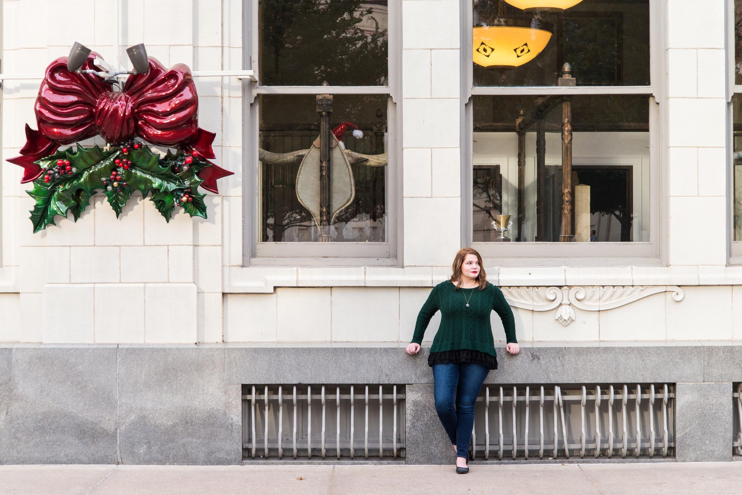 Model in Sundance Square