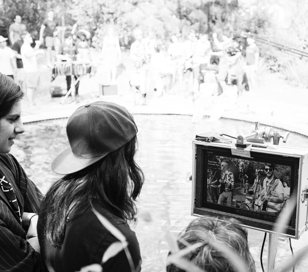Here's another one of us from the @cacowboyapparel video shoot. #bigbandlittlescreen
