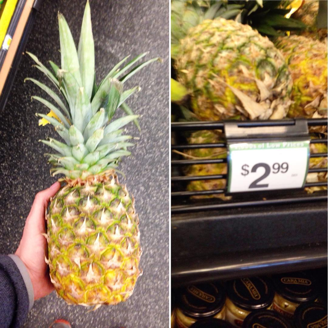 Great pineapple prices right now at Foods Co. Perfect for you or your band's next show #protip  (at Foodsco)