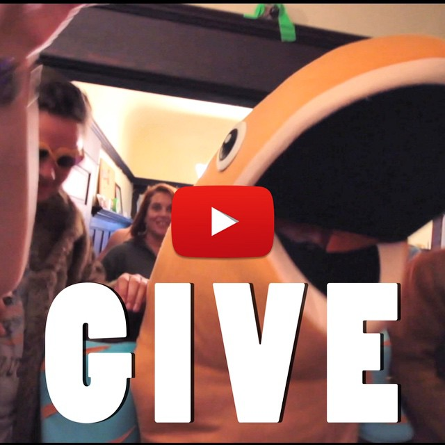 """In celebration of our 6/19 show at the Independent in San Francisco, we are excited to release our new music video for """"GIVE.""""    This video, is quite literally, a party. Filmed in and around the 97 year old house where we recorded it, GIVE features many of our silly and talented friends. Youtube link on our profile page. Enjoy!!    Watch it here:   https://www.youtube.com/watch?v=nqabBYdSMI8"""