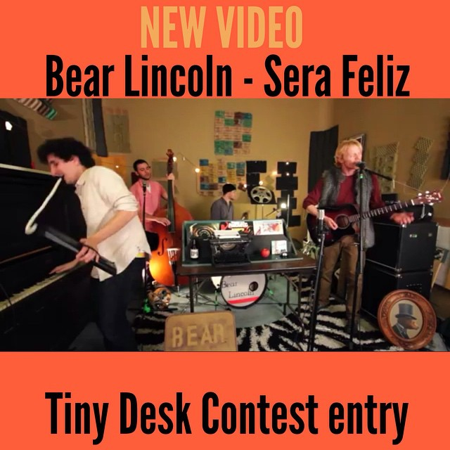 Hey you! You know what do do! Check out our NEWEST Live Video, filmed at the new Bear Cave for the NPR/Lagunitas Tiny Desk Contest. Watch it here:  https://www.youtube.com/watch?v=XnvXFu1goqI