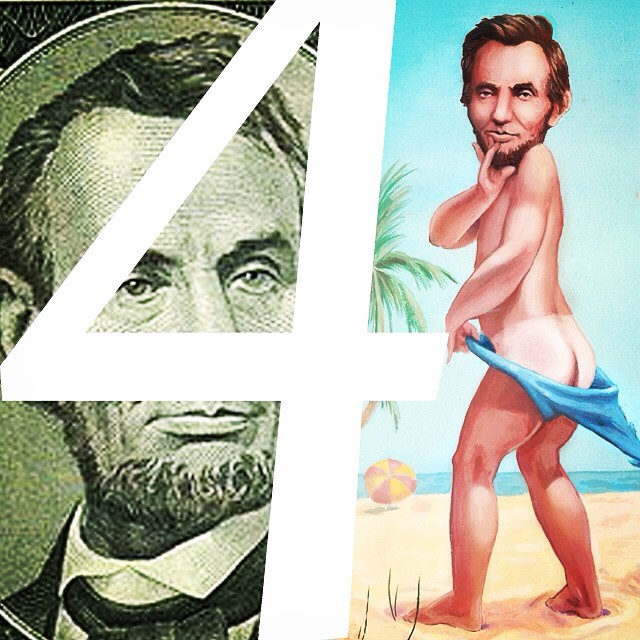 Let's trade. Your Lincoln 4 our Lincoln: we'll show you ours if you show us yours ;)    This week, pre-order our new record 'Bare Lincoln' digitally for just $5. Check it out at  http://smarturl.it/barelincoln