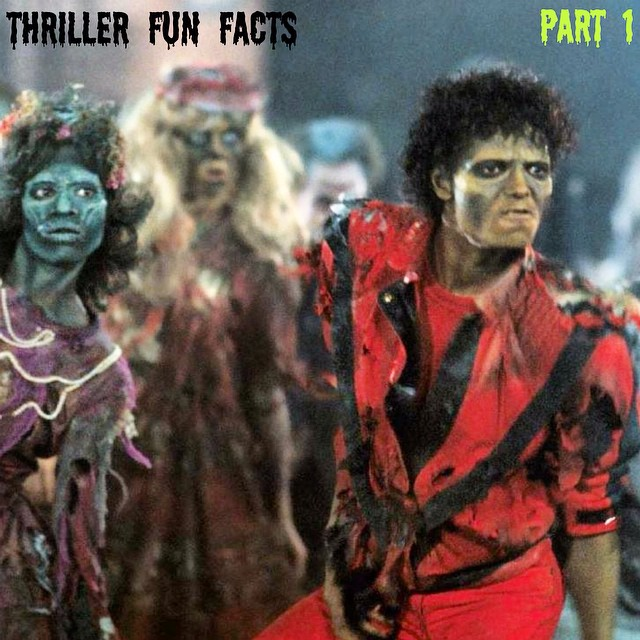 """Thriller Fun Fact #1:    Michael Jackson, a Jehovah's Witness, ALMOST ordered the Thriller video footage to be destroyed when he found out that the religious group disapproved of its subject matter (werewolves, the undead etc).    Luckily, he came around when the producers added a disclaimer to the beginning of the video which states: """"Due to my strong personal convictions, I wish to stress that this film in no way endorses a belief in the occult.""""    And in case you didn't know, we're playing the album Thriller this Thursday in San Francisco and Saturday in Santa Cruz. That's Fun Fact #2."""