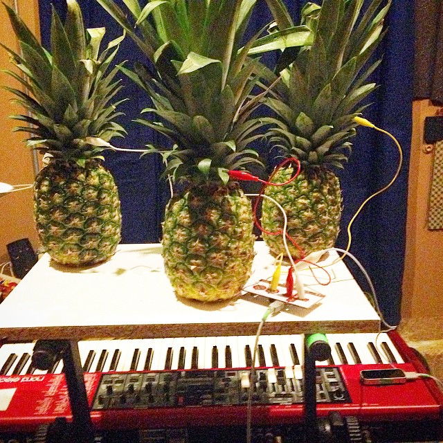 First time in Bear Lincoln history. Tonight it's a THREE pineapple show at Neck of the Woods in the Richmond. Doors at 8, we hit the stage at 8:30 sharp!