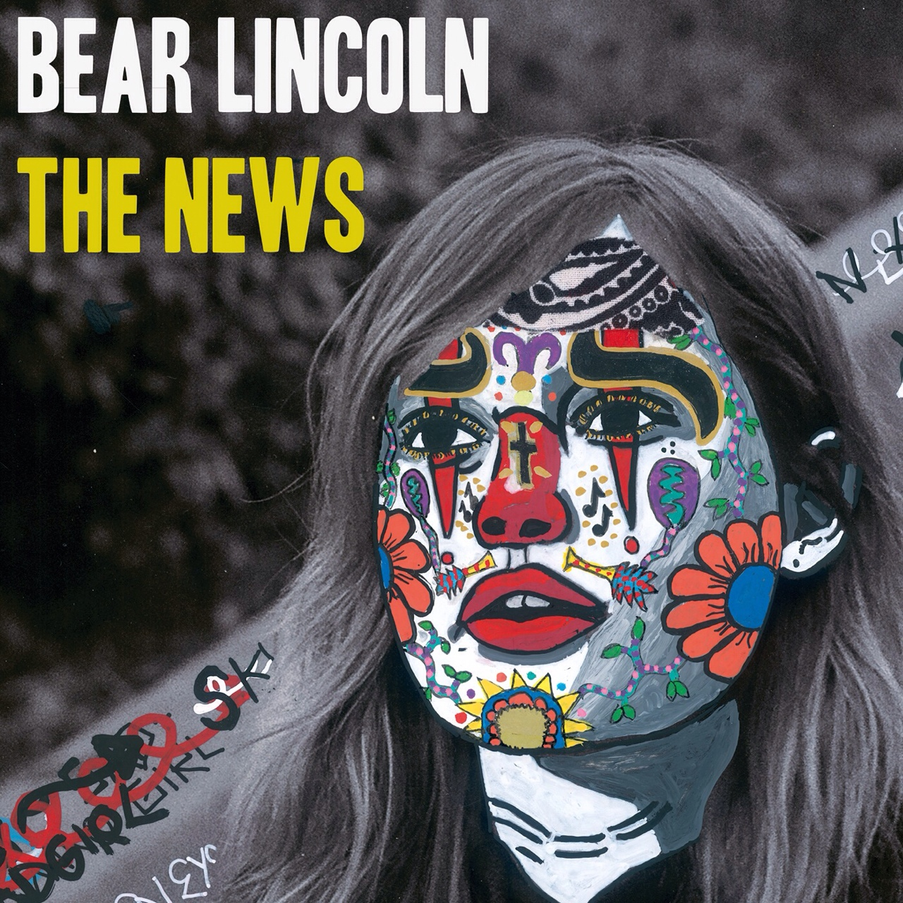 'The News' will be officially released on Tuesday 9/9, and we're excited to show you the cover artwork by Nick Angelo. Check out more of his compelling work here -  http://www.nick-angelo.net