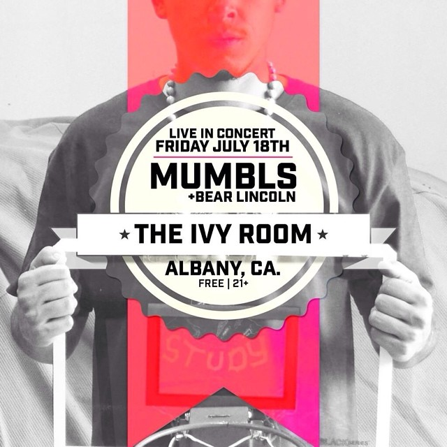 We'll be at the Ivy Room tonight with @mumblsinhissleep for our monthly residency. If you're in the area roll on through!