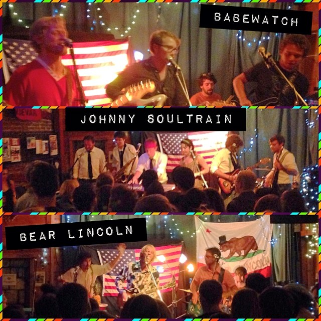 Thank you to everyone who came out on Saturday night! Here's a lil triptych for you featuring all three bands #howfun