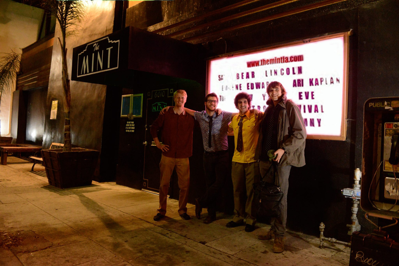 After our 12/28/2013 show at  The Mint LA  w/  Eugene Edwards Band  &  Ari Kaplan