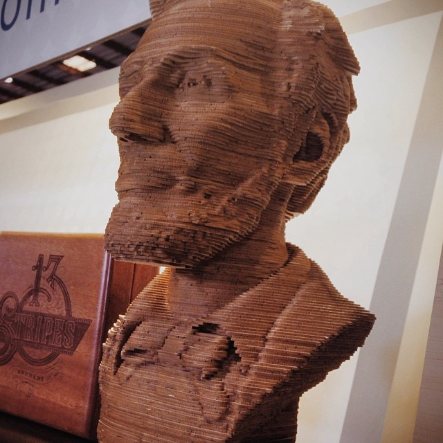 Lincoln. Busty. #makerfaire