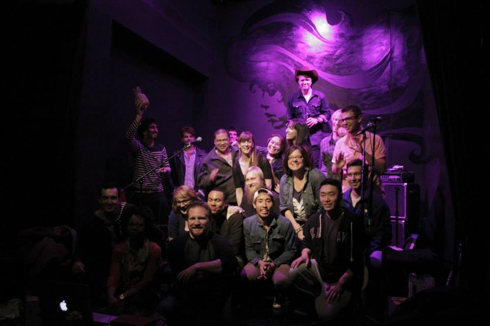 What a great time! Thanks to   MusicianCorps  ,   Dane Ohri  ,  Dean Harlem  , Melissa Lyn,   Diana Gameros Música  , and to everyone who joined us in person & online last night for   Songwriter Saturdays at the EXIT Theatre  .