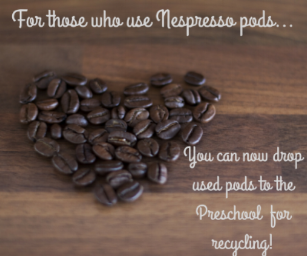 Don't forget your nespresso pods!
