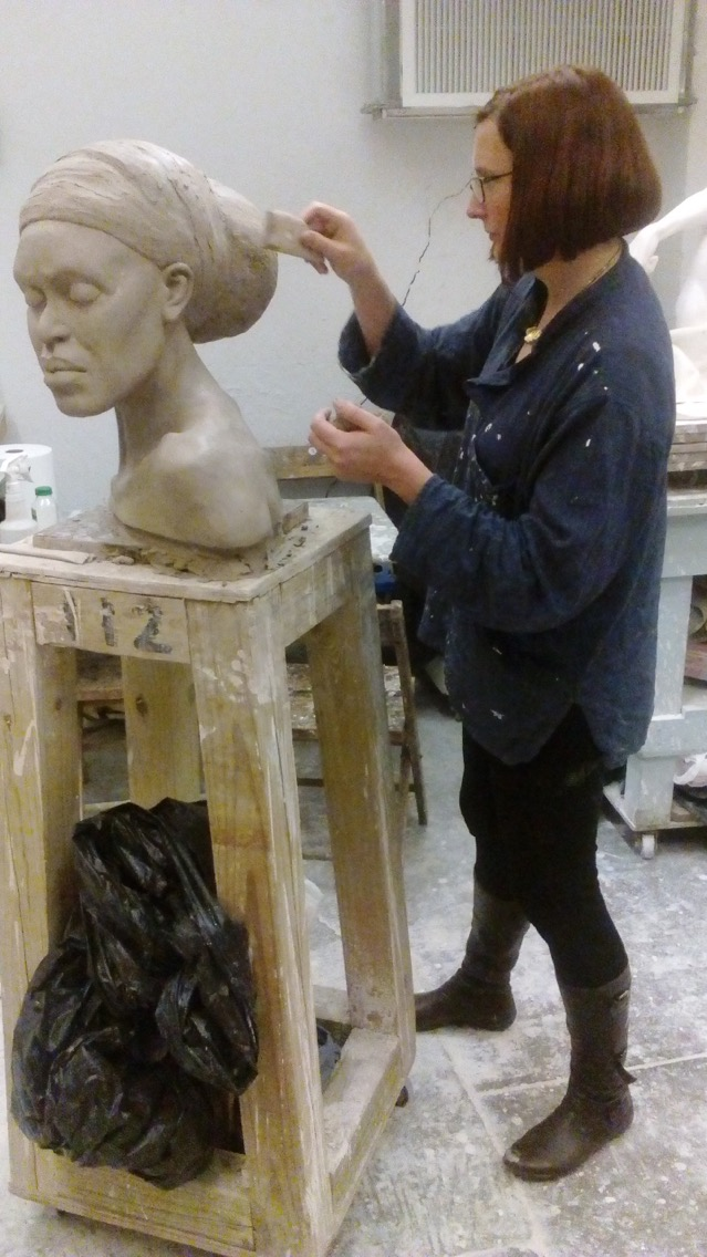 Finishing touches before making a mold