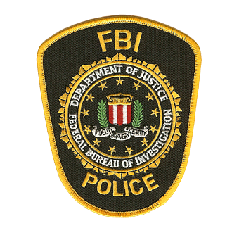 FBI Police Officer Patch
