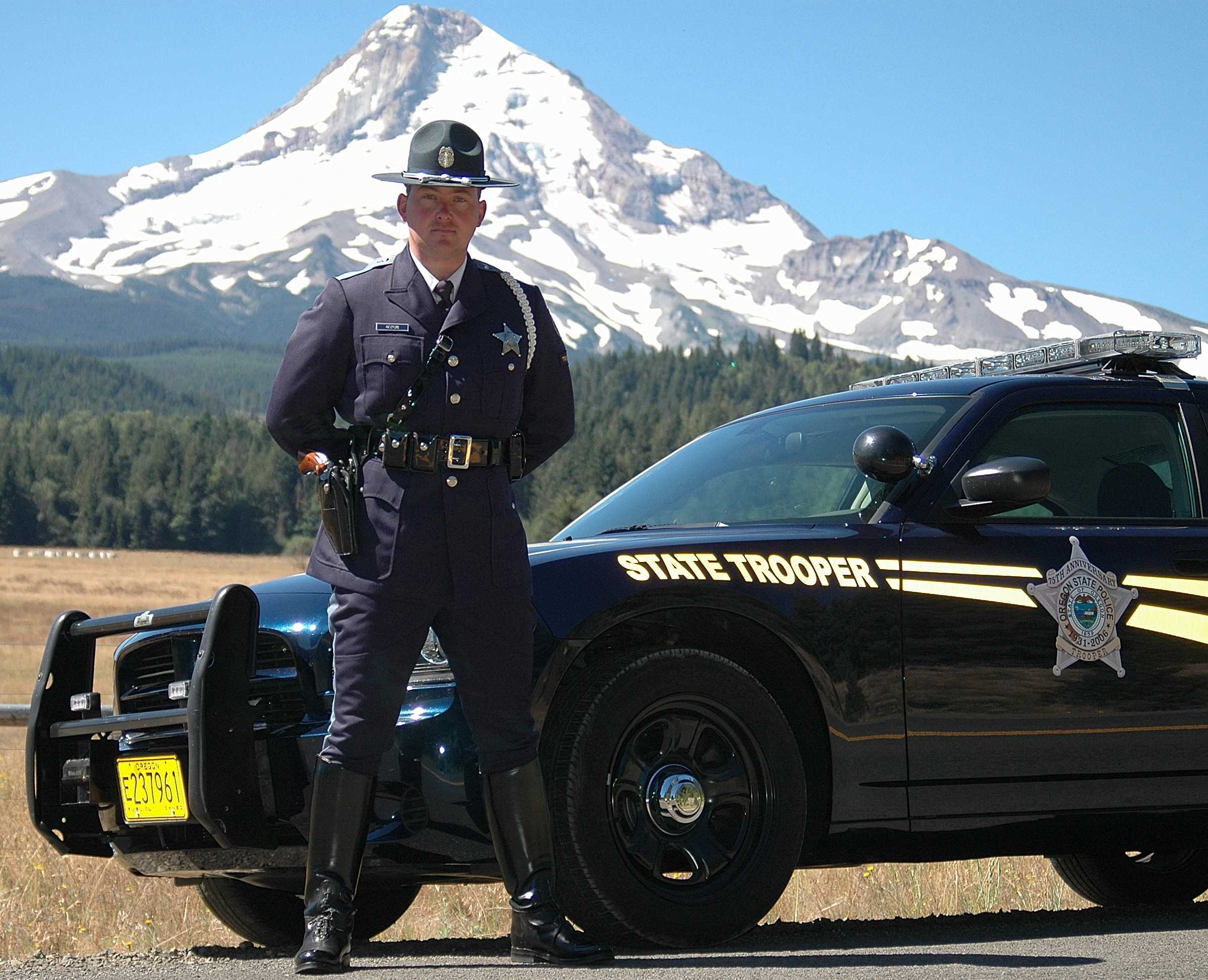 The Oregon State Troopers use the NPOST as their Written Exam