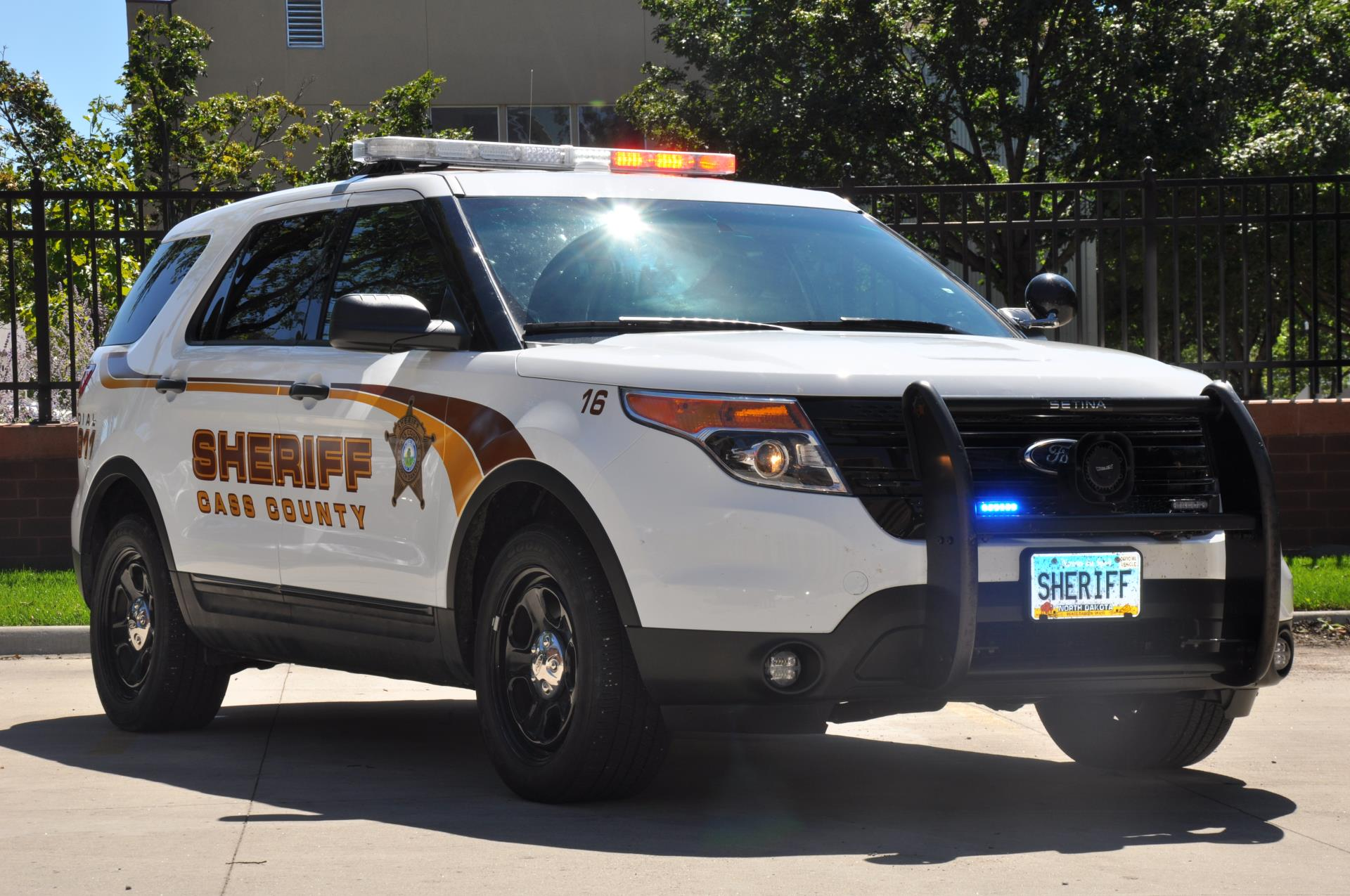 In North Dakota, the Cass County Sheriff uses the NCJOSI written exam.