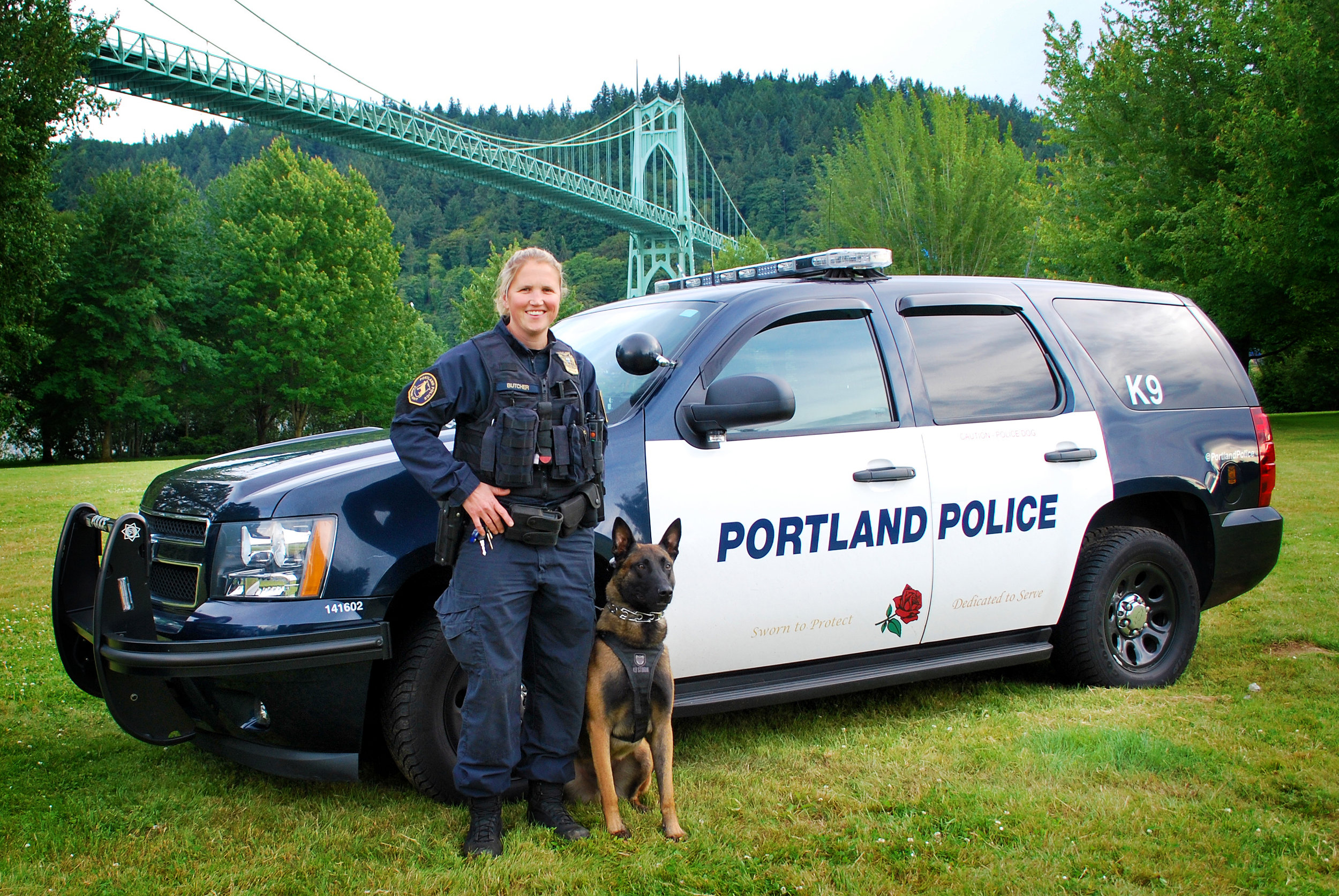Portland Police use Frontline test for their written exam