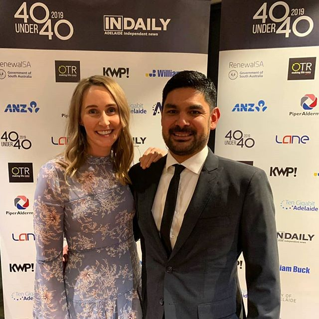 Very humbling for MPS Law founder to be recognised in the #InDaily 40 under 40 awards last night.  Much of the recognition should be shared with Michael's wife, Tamaryn, who works twice as hard while he travels around the country.  Some jaw dropping achievements by award winners. Congrats to all winners. Thanks to the event organisers and sponsors for showcasing the amazing talent in SA.