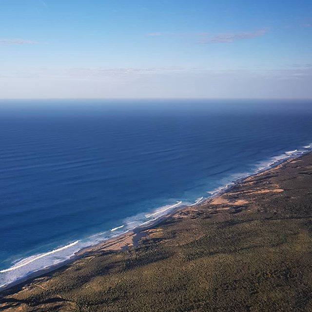 Yamatji coastline looking fine this morning.  We are meeting with clients in Perth and Geraldton this week to explain the proposed resolution of their native title claim.