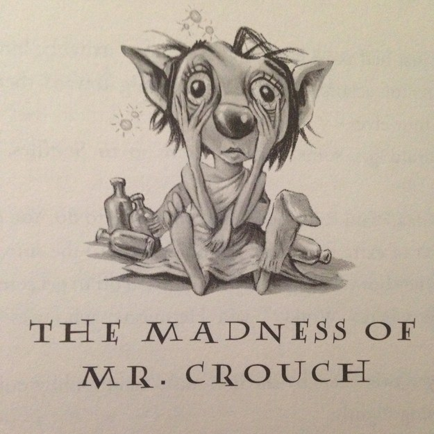 Winky the house elf, as seen in J.K. Rowling's  Harry Potter and The Goblet of Fire . Illustration by  Marie GrandPré