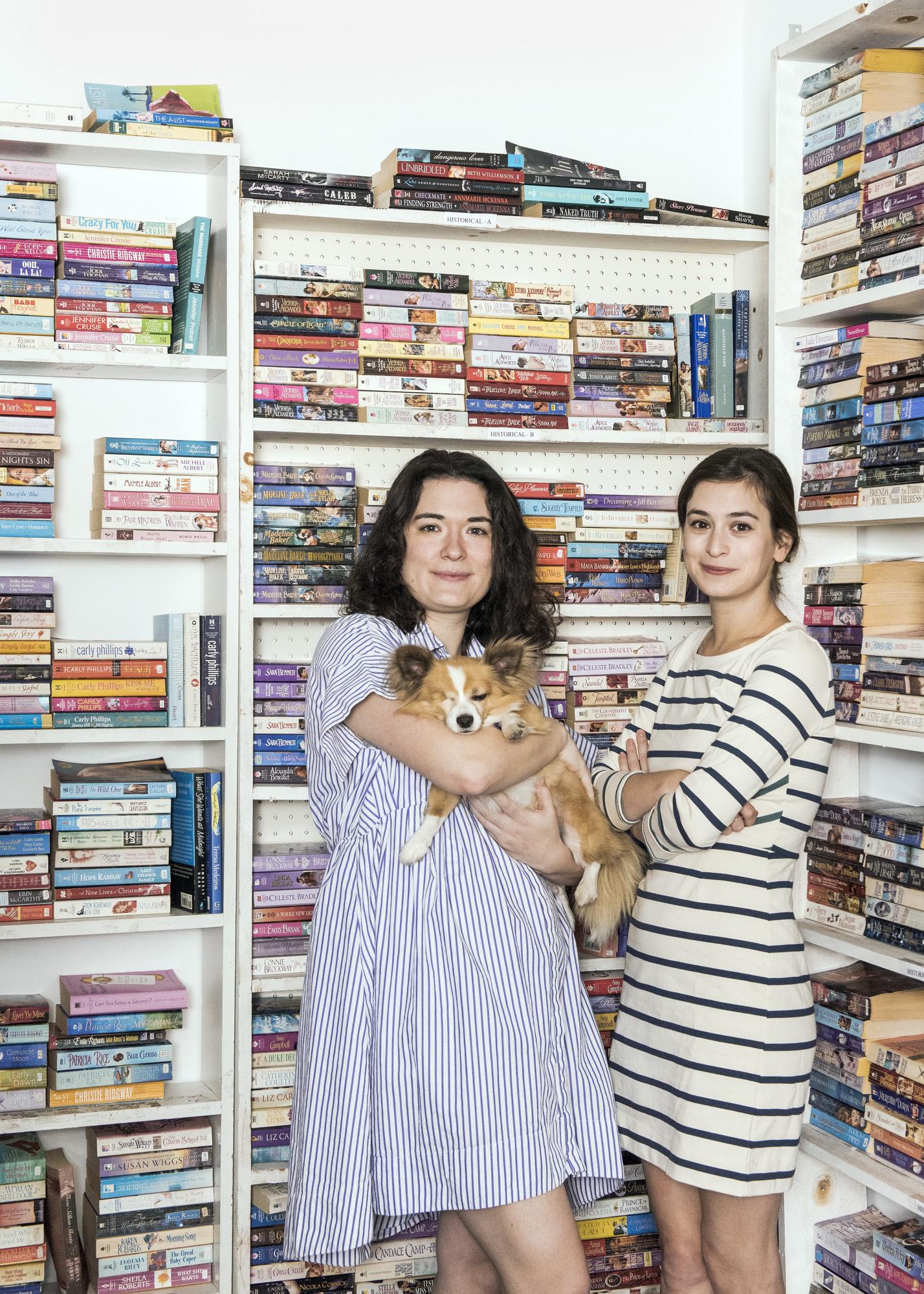 Leah (left), Fitzwilliam , & Bea