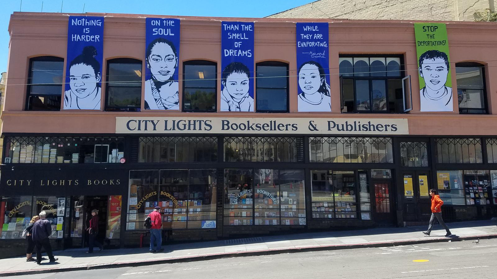 San Francisco, California /  City Lights Bookstore