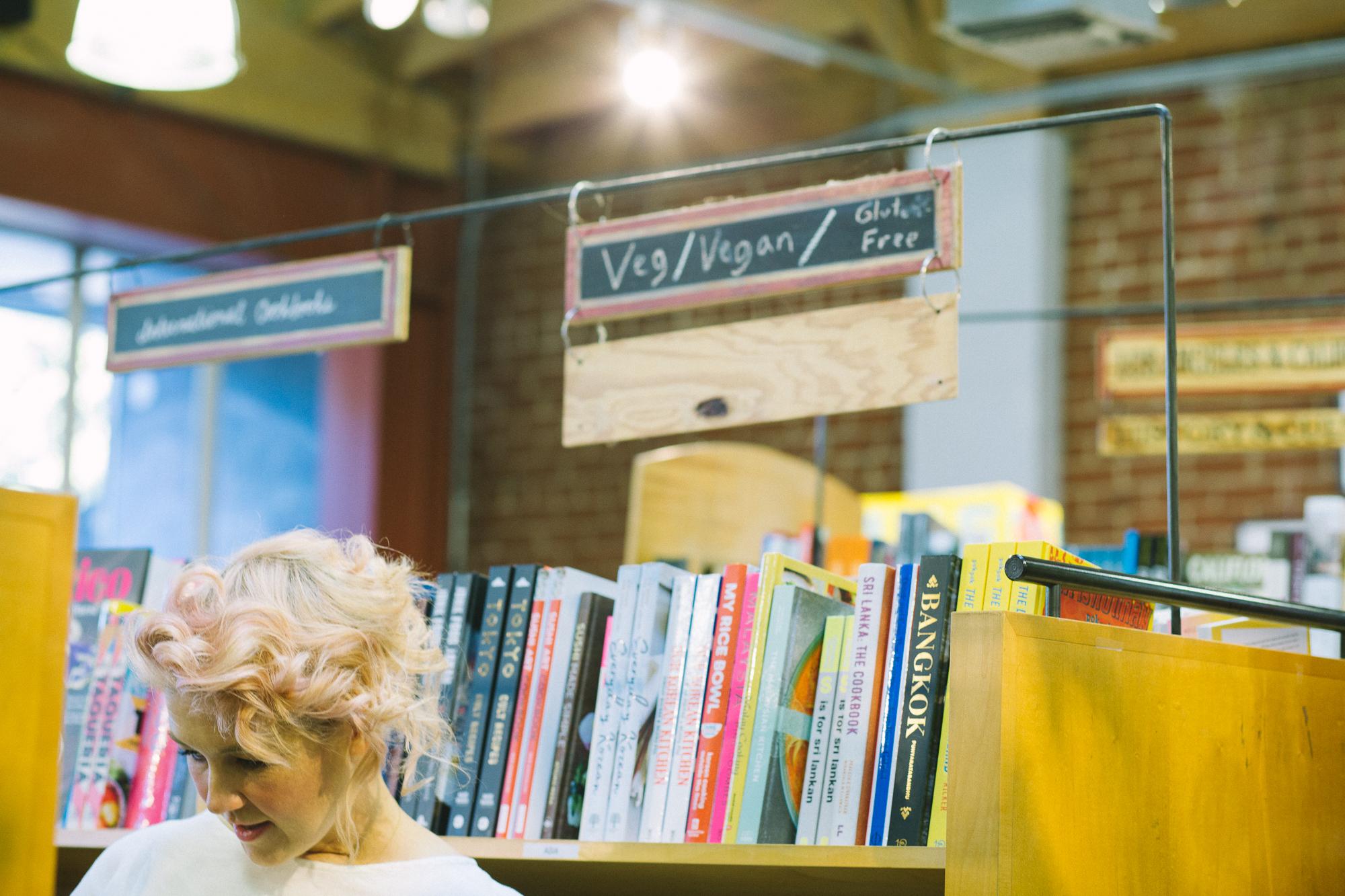 Jeni at  Skylight Books  in Los Feliz