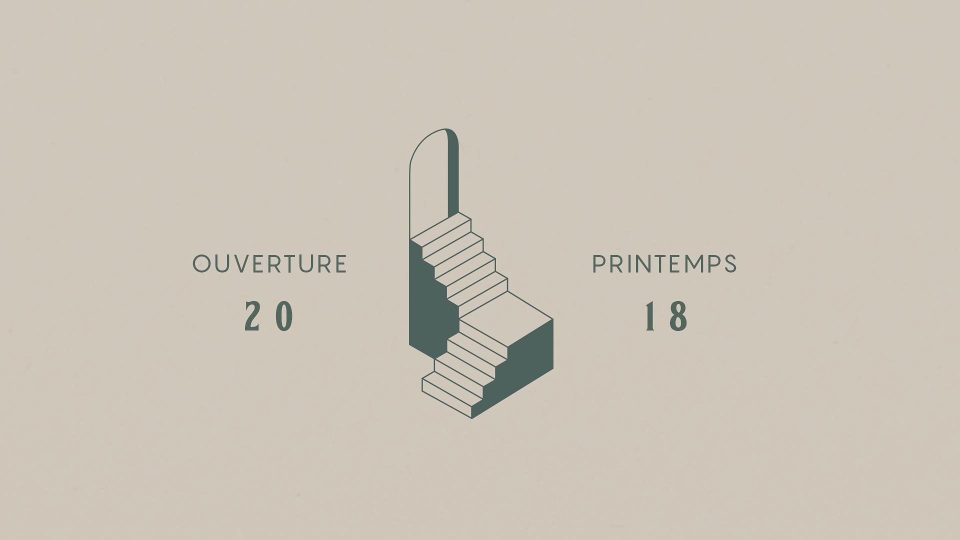 L'image graphique a été créée, par la propriétaire Noémie Lavoie, avant que l'on entame notre travail de design d'intérieur. Ces illustrations furent donc nos inspirations pour débuter le projet.