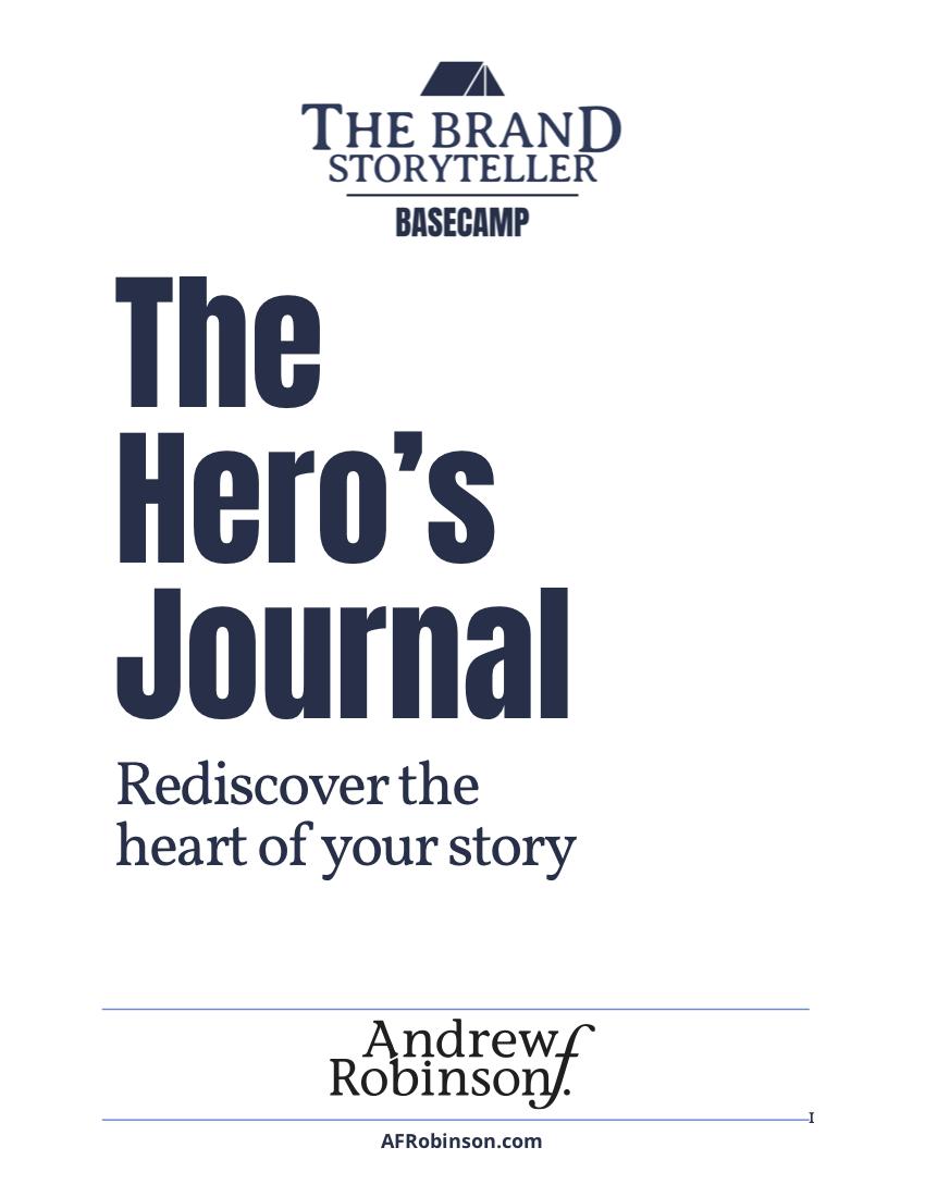 The Hero's Journal_AndrewRobinson
