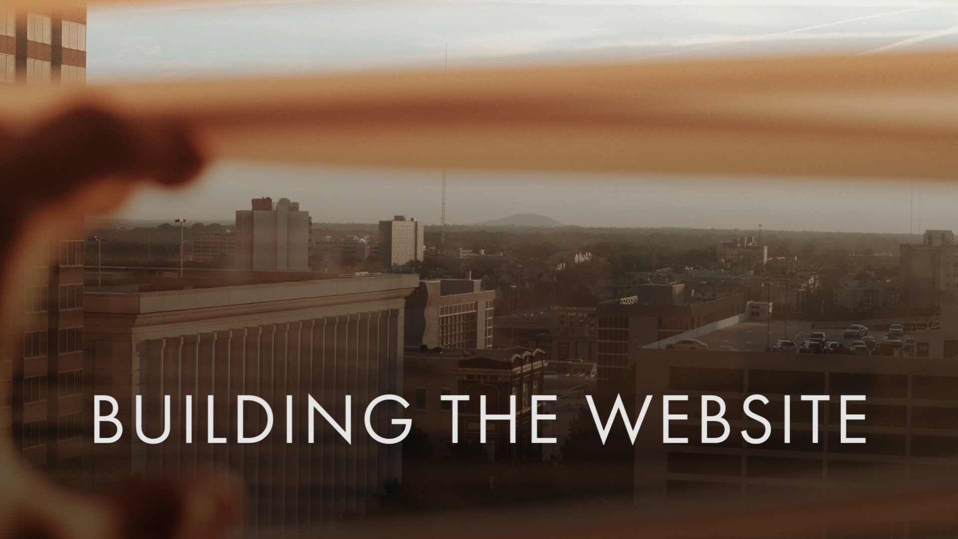 Building the Website