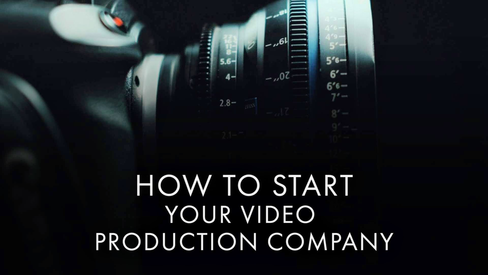 Get ready to take on the world. - The starter kit to running your production company