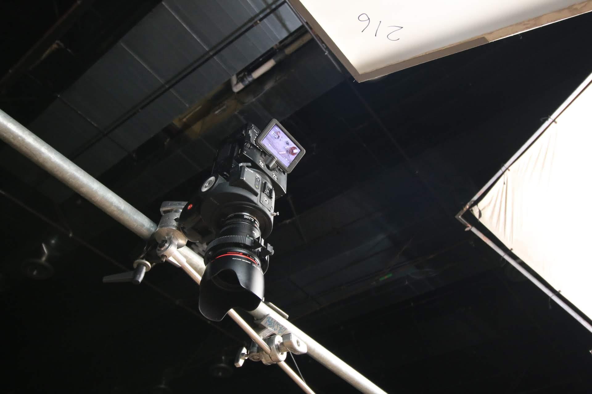 Sony FS700 Overhead Rig