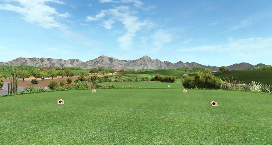 TPC Scottsdale hole 16