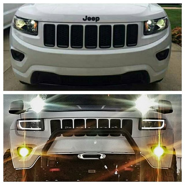 #beforeandafter 3 go to @jeep page and like my post on there too!