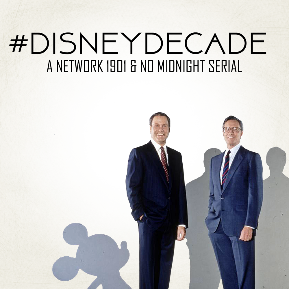 #DISNEYDECADE  - Hosted by Josh, Kory, and Adam as they give you the history of what was the Disney companies most popular and profitable time period as well as the ups and downs of that era.