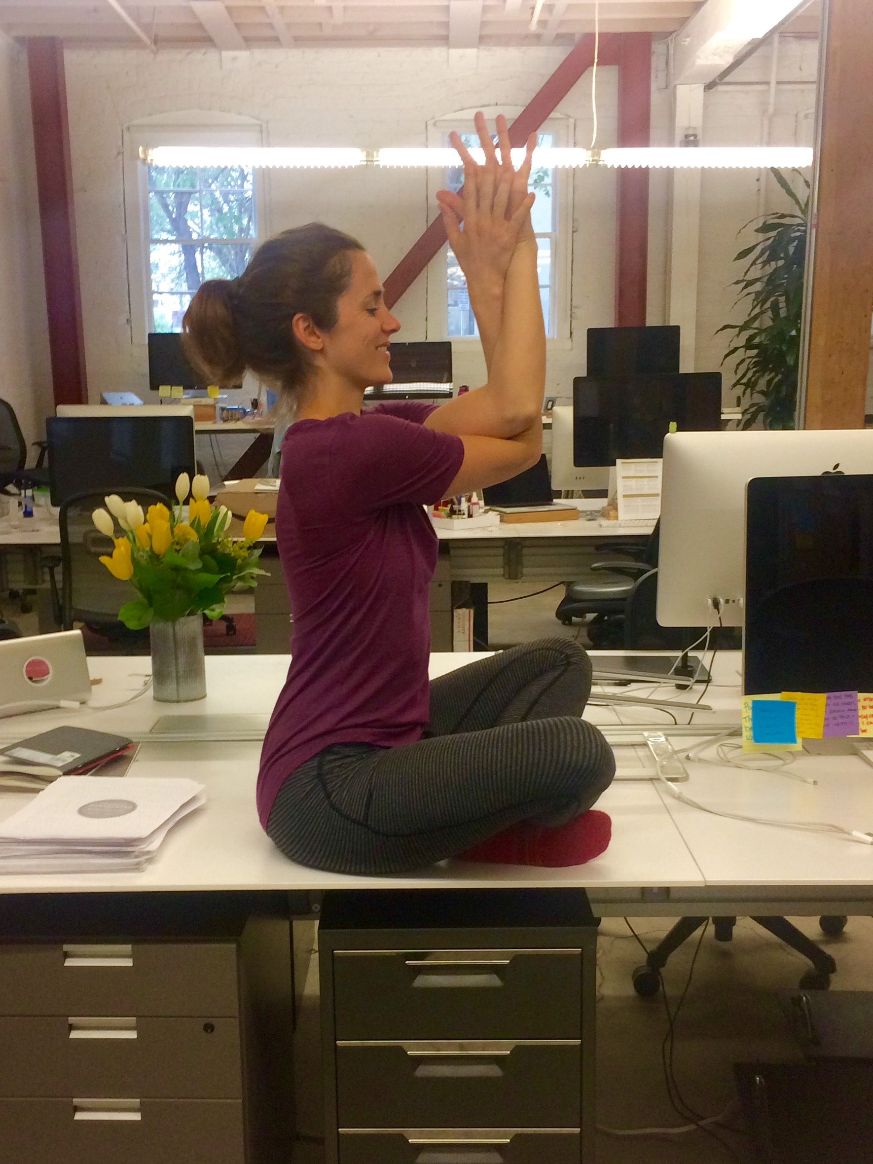 - Yoga for EVERYbody in ANY space