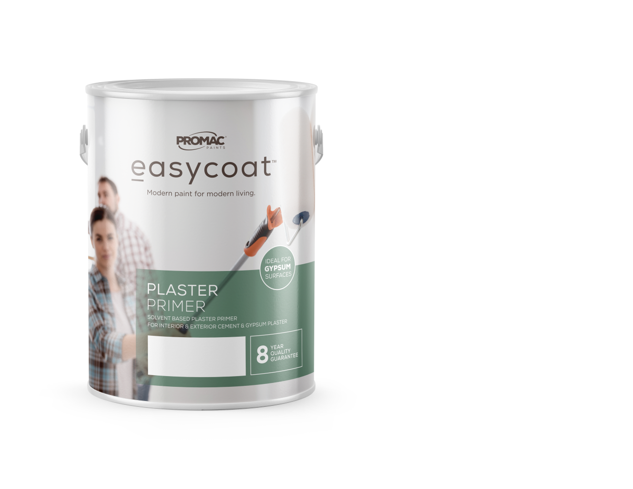 PLASTERPRIMER - SOLVENT BASEDPromac Easycoat Plaster Primer is a solvent based plaster primer which penetrates the surface and ensures optimum adhesion of top coats to the surface, while providing protection against alkali and efflorescence.