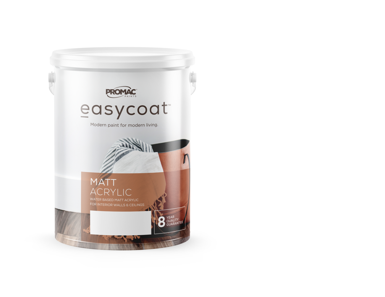 MATT ACRYLIC - WATER BASEDPromac Easycoat Matt is an acrylic wall coating, which has been specially formulated to decorate interior surfaces.