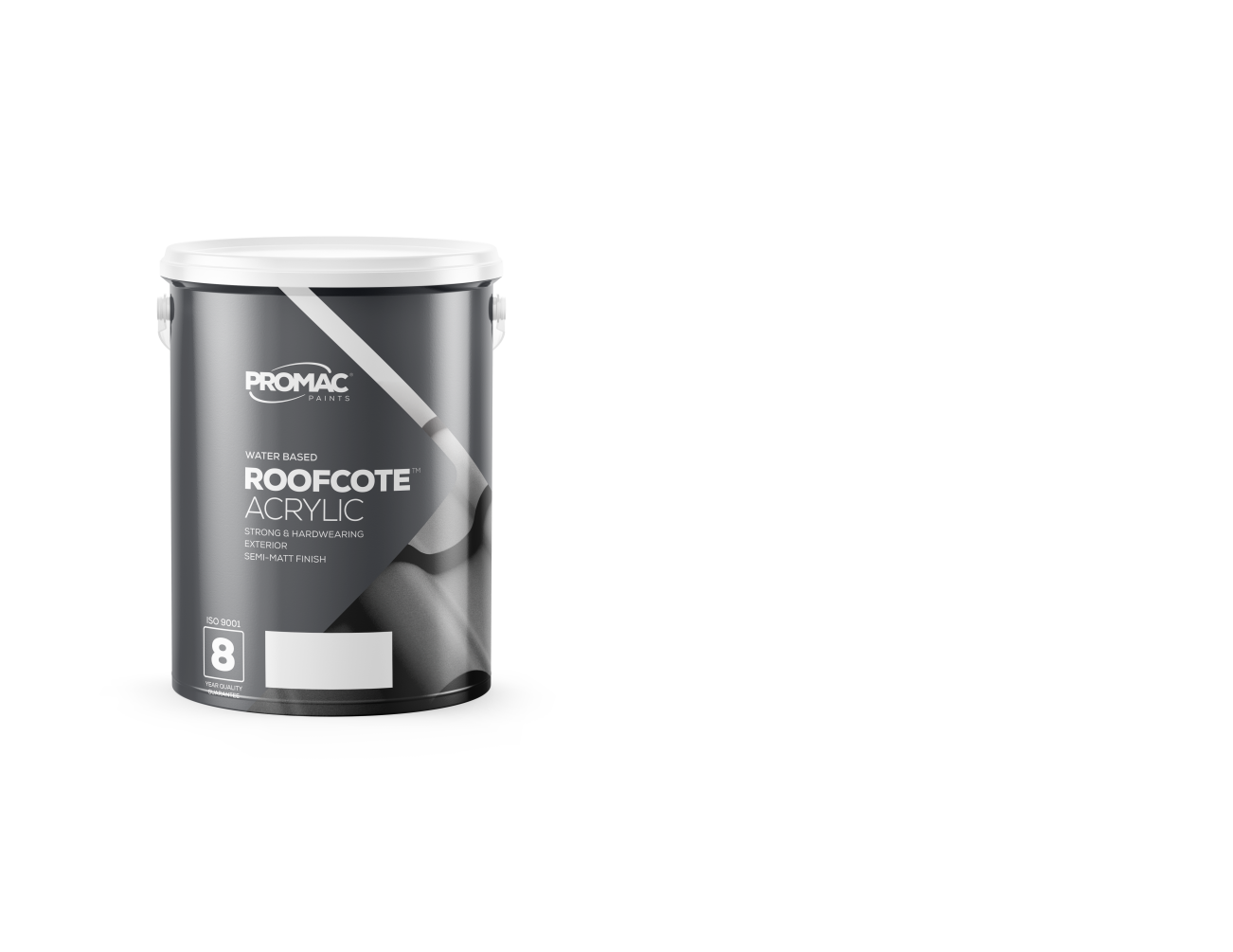 ROOFCOTEACRYLIC - WATER BASEDPromac RoofCote™ Acrylic is a high quality semi-mat finish coating for tile, cement & galvanised roofs. Has outstanding weathering properties and is available in a wide range of colours.