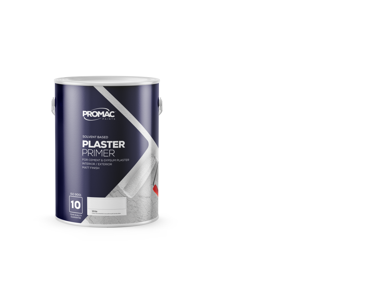 PLASTER PRIMER - SOLVENT BASEDPromac Plaster Primer is a new generation solvent based, alkali resistant plaster primer which has excellent adhesion, binding power and water / weather resistance for interior / exterior areas. It is meant for application to both uncoated new work and weathered / previously painted areas.