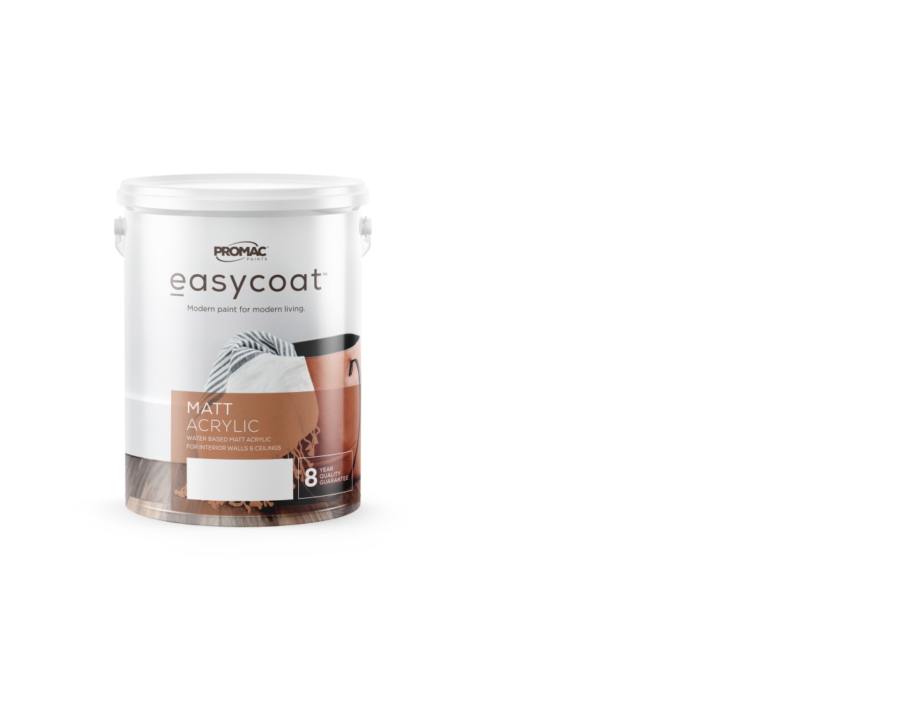 MATTACRYLIC - WATER BASEDPromac Easycoat Matt is an acrylic wall coating, which has been specially formulated to decorate interior surfaces.