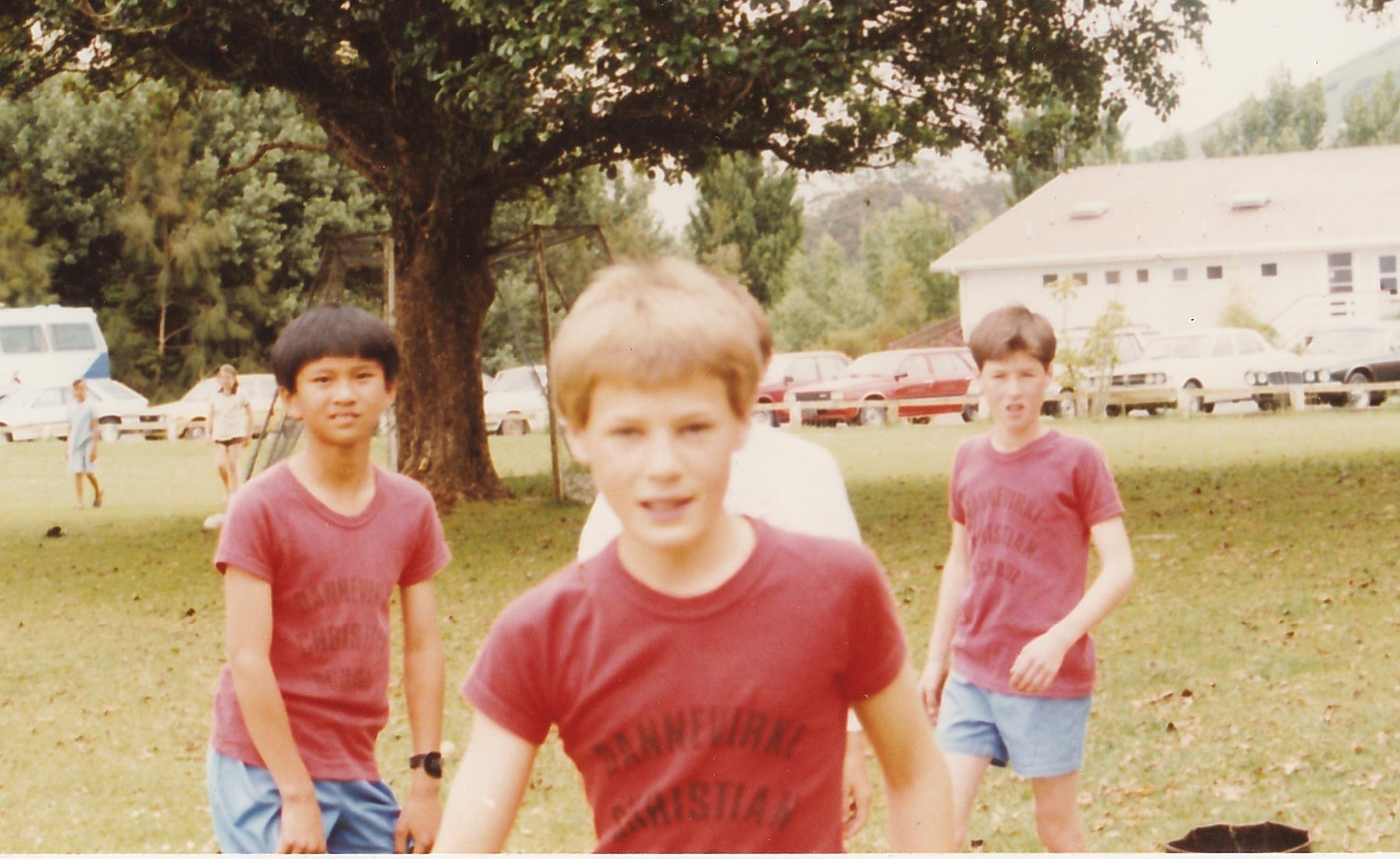 Young Matt. Dannevirke Christian School sports day.Source: Matt Lamason