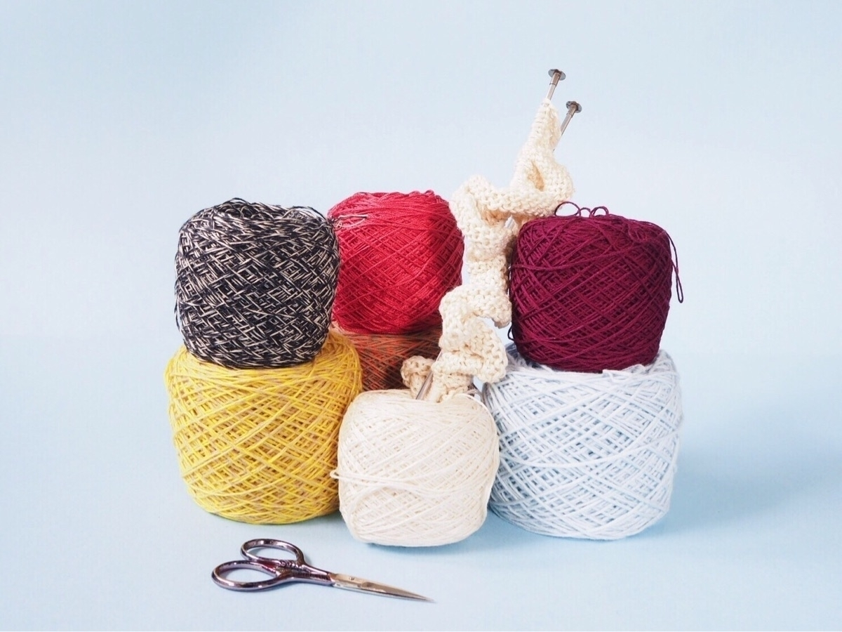 This is recycled yarn.