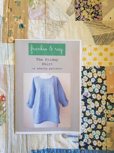 The Friday Shirt is a winner - wearable, simple, and shows off a beautiful piece of fabric to great advantage.